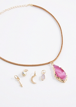 Pink Quartz Interchangeable Choker