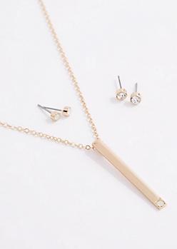 October Birthstone Jewelry Set