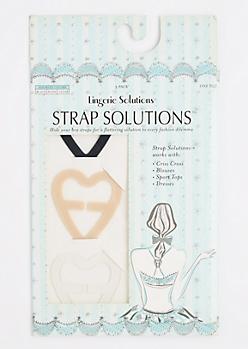 3-Pack Bra Strap Converter Clips