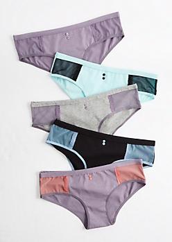 5-Pack Mesh Bikini Undie