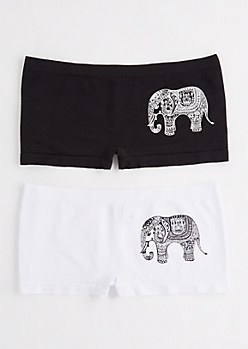 Boho Elephant Hipster Duo