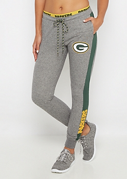 Green Bay Packers Layered Waist Jogger