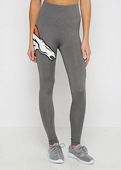 Denver Broncos High Waist Logo Legging