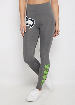 Seattle Seahawks High Waist Logo Legging