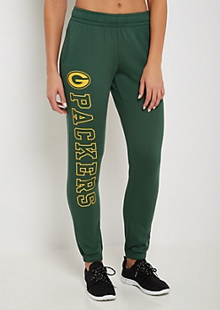 Green Bay Packers Logo Leg Jogger