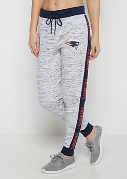 New England Patriots Blocked Inset Jogger