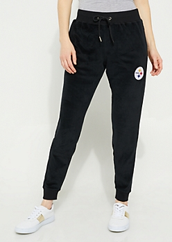 Pittsburgh Steelers Velour Joggers