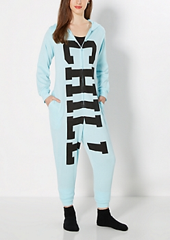 Chill Hooded Knit Onesie