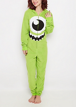 Monsters Inc Mike Hooded Onesie