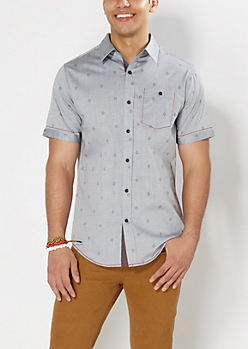 Southwest Short Sleeve Button Down