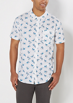 Donald Duck Short Sleeve Shirt