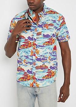 Guys Button Up Shirts | rue21