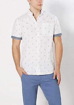 Mini Anchor Short Sleeve Shirt