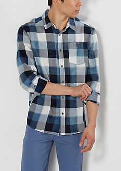 Blue Buffalo Check Twill Shirt