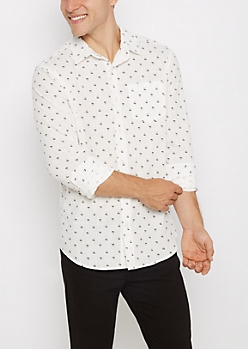 Triangle Crosshatch Shirt