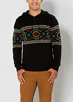 Tribal Pullover Hoodie