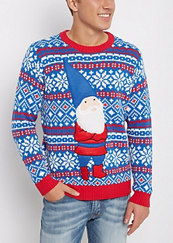 Gnome Ugly Christmas Sweater