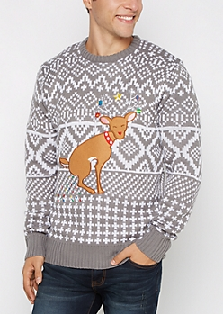 Holiday Light Surprise Sweater