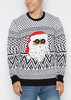 Rasta Santa Ugly Christmas Sweater