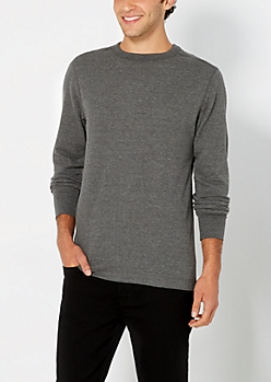 Classic Charcoal Gray Thermal Top
