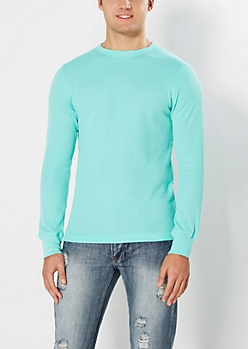 Classic Light Green Thermal Top
