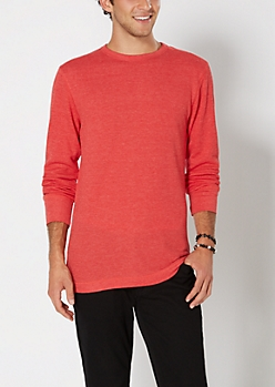 Classic Red Thermal Top