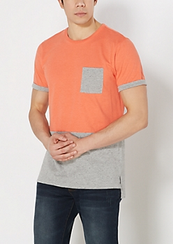 Long Length Short Sleeve Tees