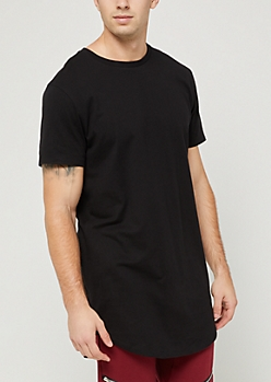 Black X-Treme Length Tee