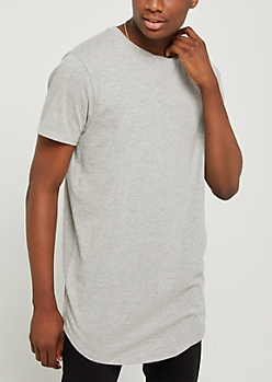 Heather Gray X-Treme Length Tee