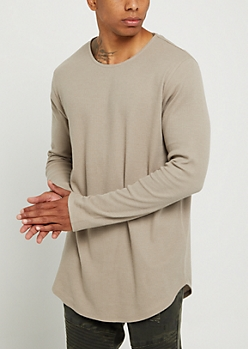 Sand Thermal Long Sleeve Shirt