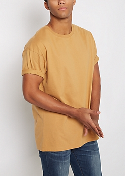 Camel Relaxed Fit Tee