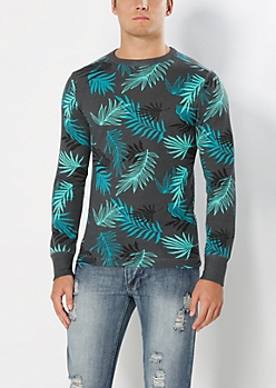 Green Palms Thermal Top