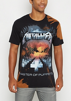Metallica Master Of Puppets Splattered Tee