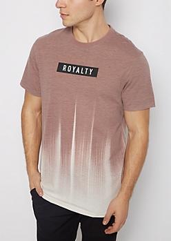 Royalty Color Streak Tee