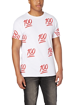 Red 100% Tee
