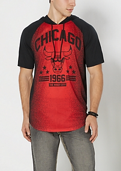 Chicago Bulls Hooded Tee