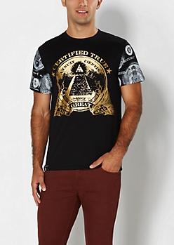 Golden Foil Great Seal Tee