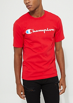 Red Champion Classic Short Sleeve Tee