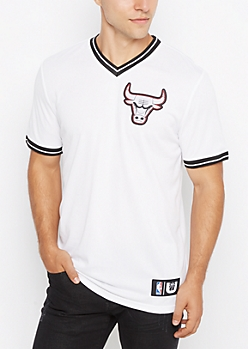 Chicago Bulls Patch Mesh Jersey
