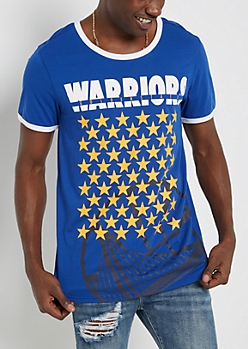 Golden State Warriors Star Ringer Tee
