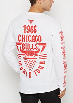 Chicago Bulls World Tour Long Sleeve Tee