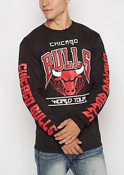 Chicago Bulls Heavy Metal Tour Top