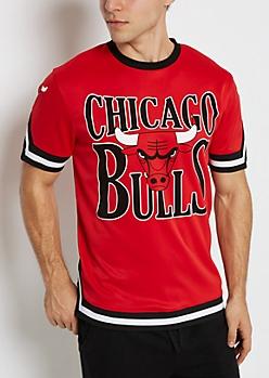 Chicago Bulls Mesh Ringer Tee