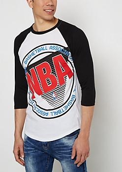 NBA Association Raglan Tee