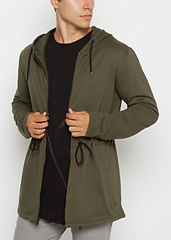 Hooded Coattail Anorak