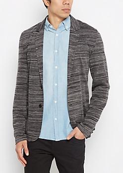 Space Dye Jersey Blazer