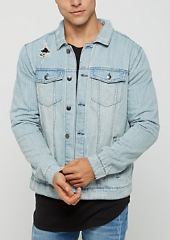Light Blue Trucker Jean Jacket