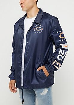 Chicago Bears Logo Coaches Jacket