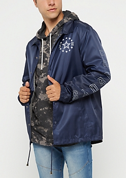 Dallas Cowboys Logo Coaches Jacket
