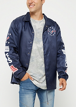 Houston Texans Logo Coaches Jacket